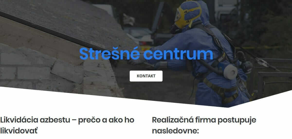 Likvidácia azbestu / eternitu
