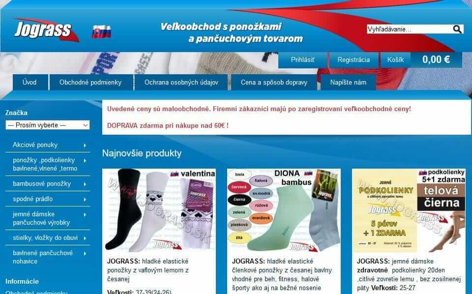 Výroba ponožiek