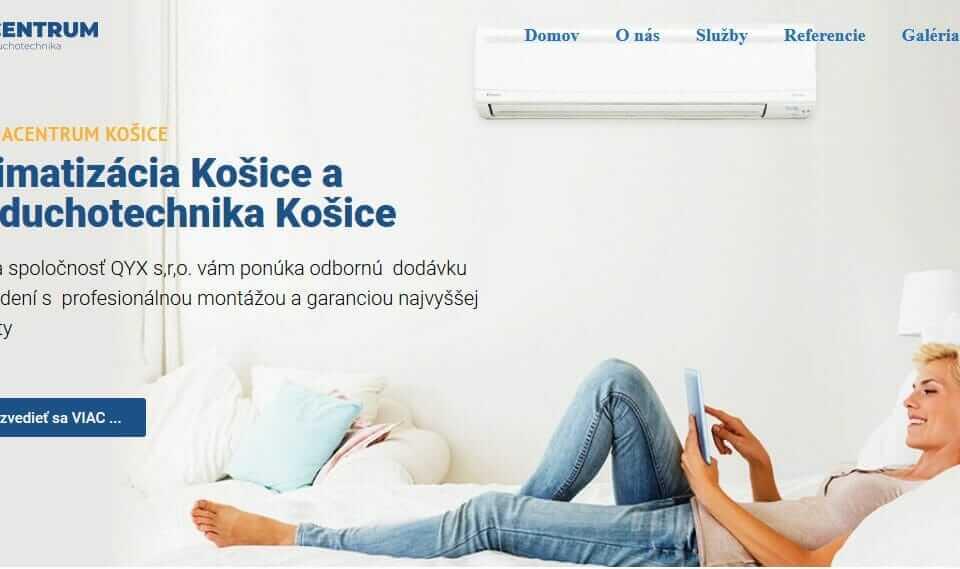 klimatizácia Košice