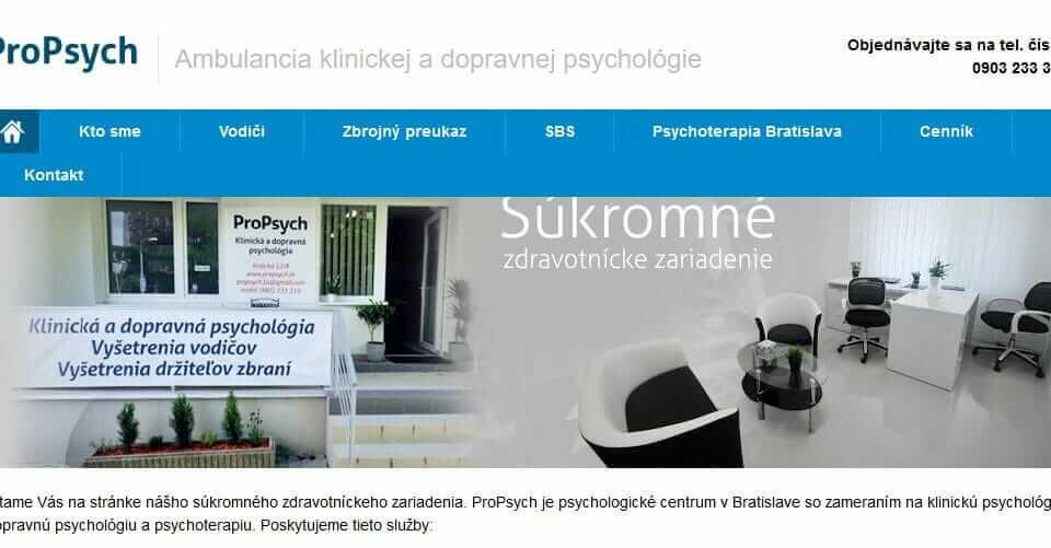 Odborné poradenstvo a psychoterapia
