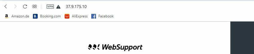 Vyhľadanie poskytovateľa podľa IP adresy