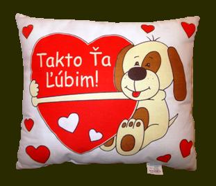 darčeky na Valentína